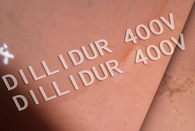 DILLIDUR 400 Placa
